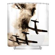 Falcon Art Shower Curtain