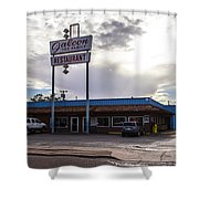 Falcon Restaurant Shower Curtain