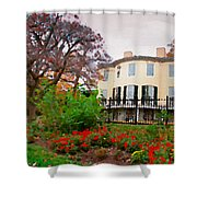 Fall At Lemon Hill Shower Curtain