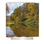 Fall At Little Beaver Creek Shower Curtain