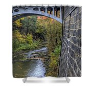 Fall At Mill Creek Park Shower Curtain
