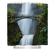 Fall At Multnomah Falls Shower Curtain