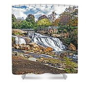 Fall At Reedy River Shower Curtain