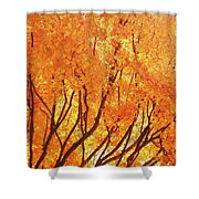 Fall At The Shore Shower Curtain