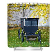 Fall Buggy 2014 Shower Curtain