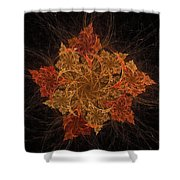 Fall Burst Shower Curtain
