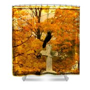 Fall Burst Shower Curtain