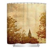 Fall Church Shower Curtain