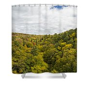 Fall Color Hills Mi 1 Shower Curtain