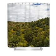 Fall Color Hills Mi 2 Shower Curtain