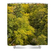 Fall Color Hills Mi 3 Shower Curtain