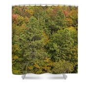 Fall Color Hills Mi 5 Shower Curtain