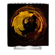 Fall Colorball Shower Curtain