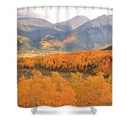 Fall Colors 3 Shower Curtain