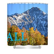 Fall Colors Cover Work Shower Curtain