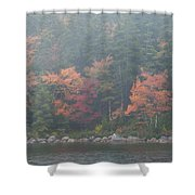 Fall Colors In Acadia National Park Maine Img 6483 Shower Curtain