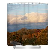 Fall Colors In New England Shower Curtain