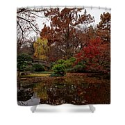 Fall Colors In The Garden Shower Curtain