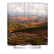 Fall Colors Of Acadia 6656 Shower Curtain