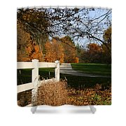 Fall Comes To The Hollow Shower Curtain