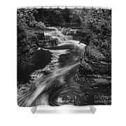 Fall Creek Flow II Shower Curtain