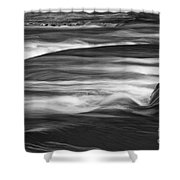 Fall Creek Flow Shower Curtain