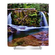Fall Creek Oregon 3 Shower Curtain
