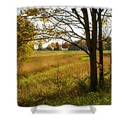 Fall Day In The Ozarks Shower Curtain
