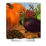 Fall Festival Shower Curtain