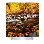 Fall Flow At Mcgee Creek Shower Curtain