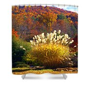 Fall Foilage In The Mountains Shower Curtain