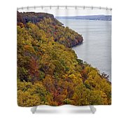 Fall Foliage On The New Jersey Palisades II Shower Curtain