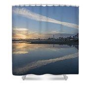 Fall Sunset Shower Curtain