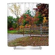 Fall Gate Shower Curtain
