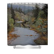 Fall Harmonies Shower Curtain