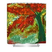 Fall Impression By Jrr Shower Curtain