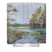 Fall Impressions Shower Curtain