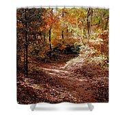 Fall In Johnston County Shower Curtain