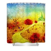 Fall In Oz Shower Curtain