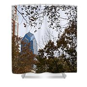 Fall In Philly Shower Curtain