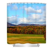 Fall In Rocky Mount Shower Curtain