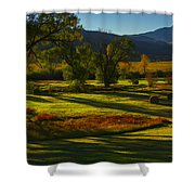 Fall In The Fields Shower Curtain