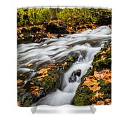 Fall In The Poconos Shower Curtain