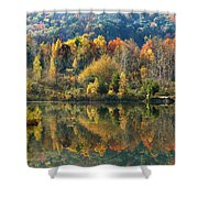 Fall Kaleidoscope Shower Curtain