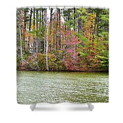Fall Landscape 2 Shower Curtain