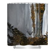 Fall Line Shower Curtain