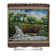 Fall Of Duden Shower Curtain