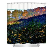 Fall On Garvin Heights Shower Curtain