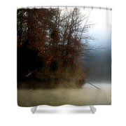 Fall On Melton Hill Lake II Shower Curtain