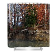 Fall On Melton Hill Lake IIi Shower Curtain
